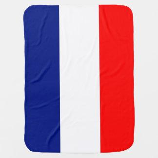 VIVE LA FRANCE tricolor STRIPE20 baby blanket