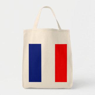 VIVE LA FRANCE tricolor STRIPE20 canvas tote bags