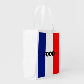 VIVE LA FRANCE tricolor STRIPE20 Market Tote