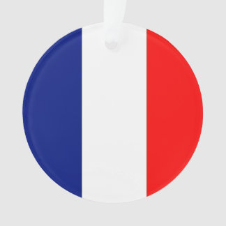 VIVE LA FRANCE tricolor STRIPE20 Ornament
