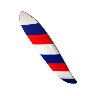 VIVE LA FRANCE tricolor STRIPE20 skateboards