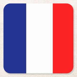 VIVE LA FRANCE tricolor STRIPE20paper coasters