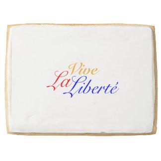 Vive La Liberté - Long Live Freedom - French Shortbread Cookie