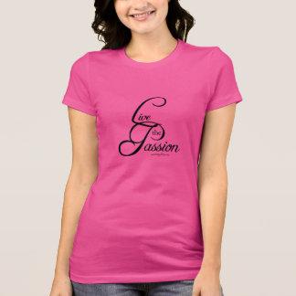 Vive la pasión camisetas