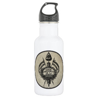 Vive la Revolution Stainless Steel Water Bottle