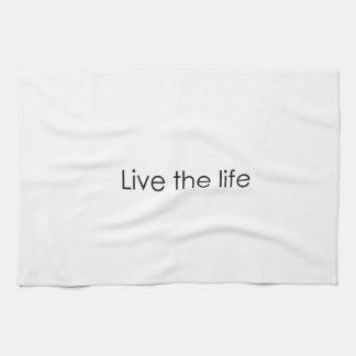Vive la vida toallas de cocina