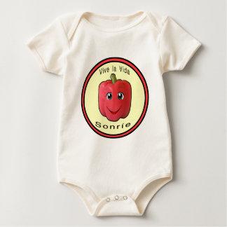 Vive la Vida Sonrie Baby Bodysuit