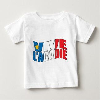 Vive l'acadie baby T-Shirt