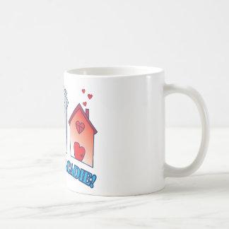 """Vive L'acadie """" Maison"""" Coffee Mug"""