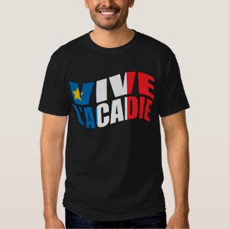 Vive l'acadie t-shirts
