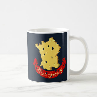 Vive le Fromage Classic White Coffee Mug