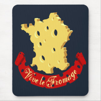 Vive le Fromage Mouse Pad