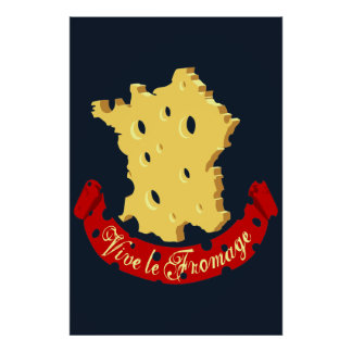 Vive le Fromage Poster