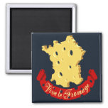 Vive le Fromage Refrigerator Magnet