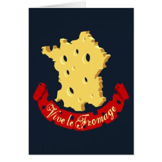 Vive le Fromage Tarjetas