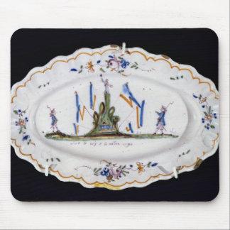Vive le Roi et la Nation 1790' Mouse Pad