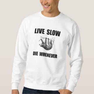 Vive lento muere siempre que la pereza suéter