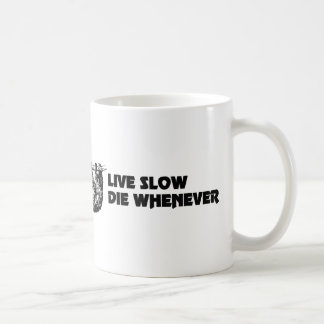 Vive lento muere siempre que la taza de café de la