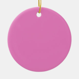 Vive les couleurs ceramic ornament