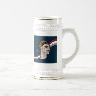 Vive les Femmes! (Customizable design!) Beer Stein