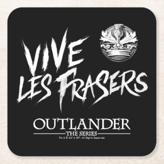 Vive Les Frasers Square Paper Coaster
