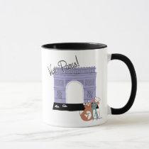 Vive Paris! Arc De Triomphe Disney Mug