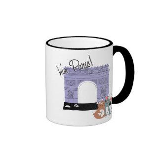 Vive Paris! Arc De Triomphe Disney Ringer Coffee Mug