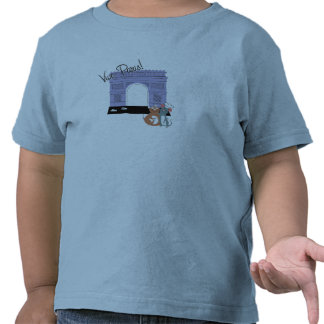 Vive Paris! Arc De Triomphe Disney Tshirt