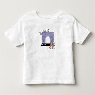 ¡Vive París! Arco del Triunfo Disney Tshirt
