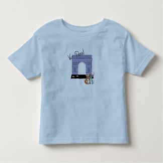 ¡Vive París! Arco del Triunfo Disney Camiseta