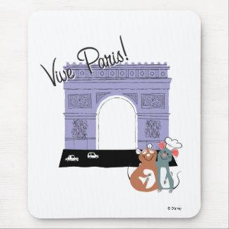 ¡Vive París! Arco del Triunfo Disney Alfombrilla De Ratón