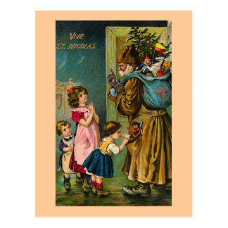 """""""Vive postal del francés del vintage del St."""