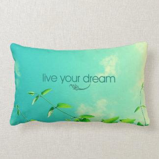 Vive su sueño. Cielo vibrante Almohada