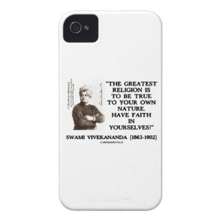 Vivekananda Greatest Religion To Be True Your Own Case-Mate iPhone 4 Cases