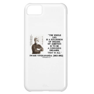 Vivekananda Whole Life Succession Dreams Ambition Cover For iPhone 5C