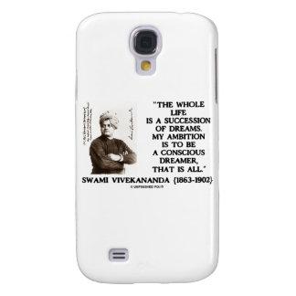 Vivekananda Whole Life Succession Dreams Ambition Samsung S4 Case