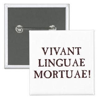 Viven de largo las idiomas muertas - latín pin