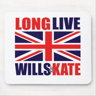 Viven de largo las voluntades y Kate Mouse Pads