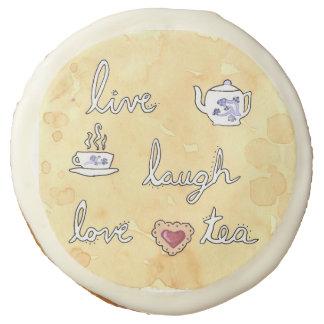 Viven las galletas del amor de la risa (té)