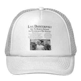 Viven peligroso 2 gorras de camionero