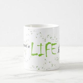 Viven sus tazas de la vida
