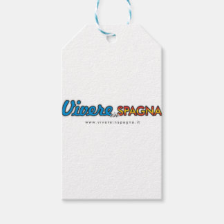 Vivere in Spagna Gift Tags