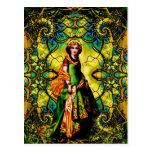 Vivian, diosa de la mística del arbolado postal