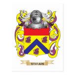 Vivian Family Crest (Coat of Arms) Postcards