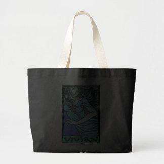 Vivian Jumbo Tote Canvas Bags