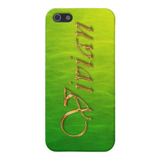 VIVIAN Name Branded iPhone Cover