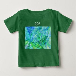 Vivid abstract mixed media floral baby T-Shirt
