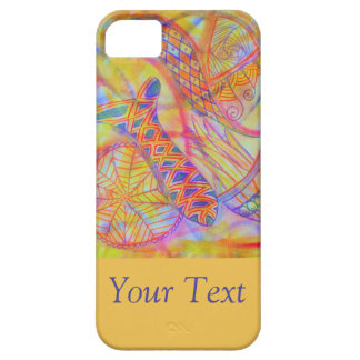 Vivid abstract mixed media iPhone SE/5/5s case