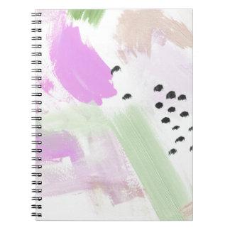 Vivid Abstraction Spiral Notebook