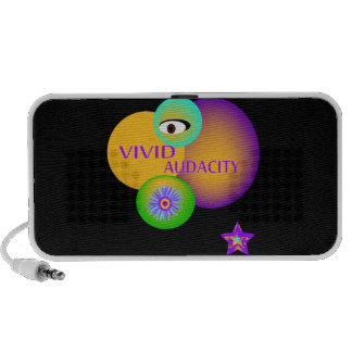 Vivid Audacity Eye Design Speaker